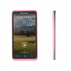 "Lenovo A656 Android 4.2 Quad-Core Bar Phone w/ 5.0"", 8GB Micro SD, Wi-Fi, GPS, Dual SIM - Pink"