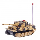 RenDa RD290-A 49MHz Turret Rotation of 300 Degrees 6-CH R/C Infrared Battle Tank - Camouflage Yellow