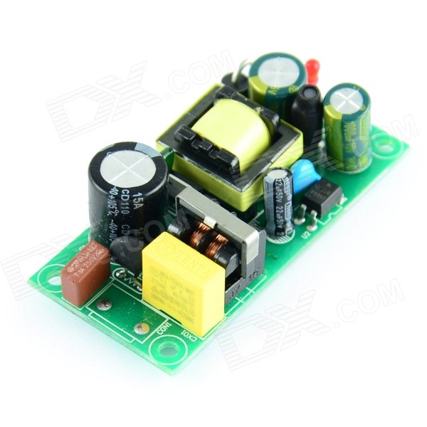 Switching Power Supply Module - Green (AC 85~265V / 5V / 2A) 4w power adapter ac 90v 240 110v 220v to dc 5v 800ma power supply module dc 5v switching power supply voltage regulator