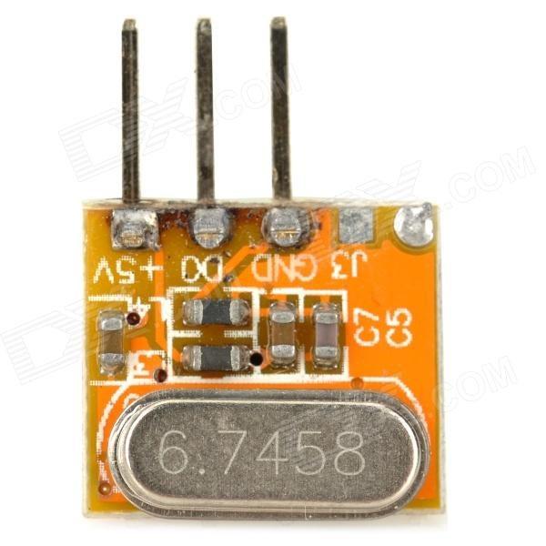 RF High Frequency Wireless Receiving Module for DIY - Yellow simcom 5360 module 3g modem bulk sms sending and receiving simcom 3g module support imei change