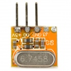 RF High Frequency Wireless Receiving Module for DIY - Yellow