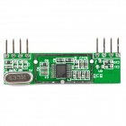 High Frequency Superheterodyne Wireless Receiving Module - Green