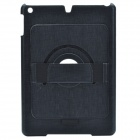 360 Degree Rotation Stylish Protective ABS Case Stand for Ipad AIR - Black