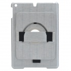 360 Degree Rotation Stylish Protective ABS Case Stand for Ipad AIR - Silver
