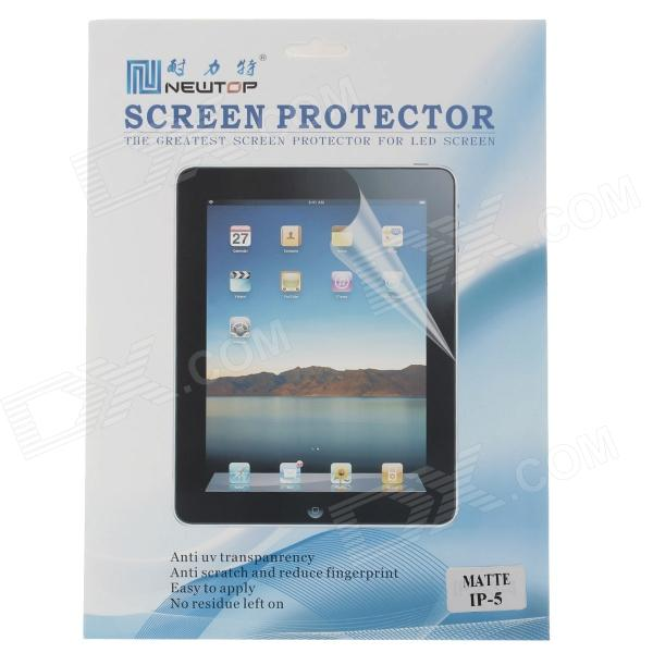 Newtop Protective Matte Screen Protector Film Guard for Ipad AIR - Transparent