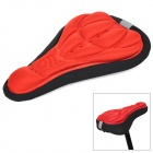 SAHOO 47861 High Elastic Sponge 3D Breathable Bike Saddle Cover - Red + Black