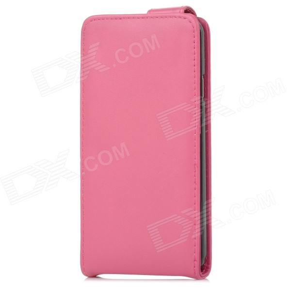 Protective Flip-Open Case w/ Card Holder Slot for Samsung Galaxy Note 3 N9000 / N9002 - Deep Pink protective pu leather flip open case w stand for samsung note 3 n9000 deep pink light green