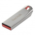 SanDisk CZ71 Stainless Steel USB 2.0 Flash Drive - Silver + Grey (64GB)