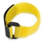 Nylon + Velcro Band Tie for GoPro Hero 3 / 3+ and Wi-Fi Wireless Remote Control - Yellow