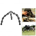 Portable Mini Octopus Tripod for Small Digital Camera / DSLR - Silver