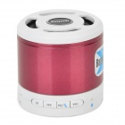 Tmusik X300 Portable Bluetooth V2.1 Speaker w/ Microphone / TF - Deep Pink