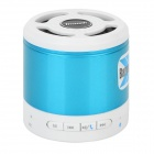 Tmusik X300 Portable Bluetooth V2.1 Speaker w/ Microphone / TF - Deep Blue