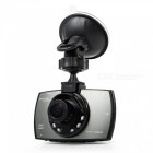 "Ultra-Slim 2.7"" TFT 8.0MP CMOS Wide Angle Car DVR w/ G-Sensor / 6-LED IR Night Vision"