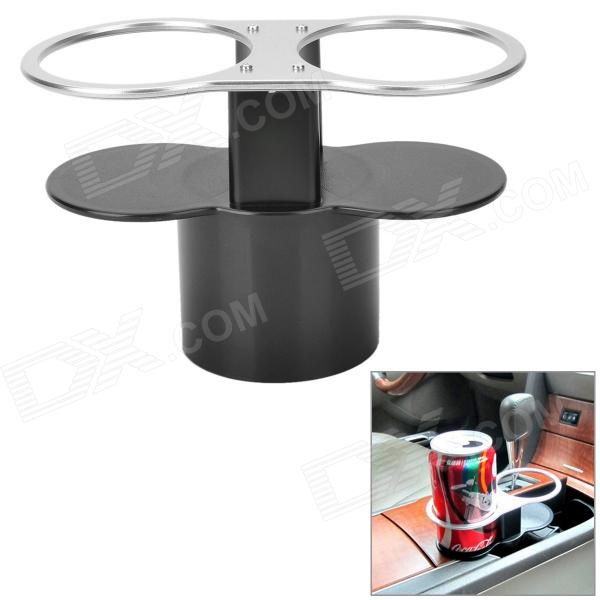 Car ABS Dual Cup Drink / Ashtray Holder ashtray