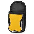 KK-190 Car Nylon Cellphone Hanging Bag - Yellow