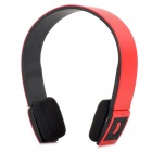 BH-002 Stylish Bluetooth V3.0 Headset w/ Microphone - Red + Black