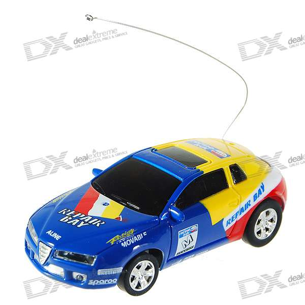 Mini Rechargeable R/C Model Racing Car - Clubs (49MHz)