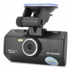 "HWZ K1000 1080P 2.5"" TFT 1.3MP CMOS Car DVR w/ 2-LED IR Night Vision / G-Sensor - Black"