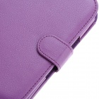 S1519603 Protective PU Leather Case Cover for Nook 2 - Purple