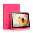 "IRULU AK010 7 ""Android Tablet PC 4.0.3 w / 512MB RAM, 4GB ROM, Wi-Fi - Deep Pink + Schwarz"