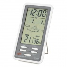 "DC801 4.1"" LCD Digital Household Thermometer / Humidity Meter - White (2 x AAA)"