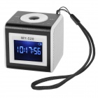 "SuoChao MY-520 1.4"" LCD Mini Portable Media Player Speaker w/ TF / USB - Black + White"