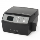 "S-118 3-in-1 2.4"" LCD Multi-function Film Photo Scanner - Black"