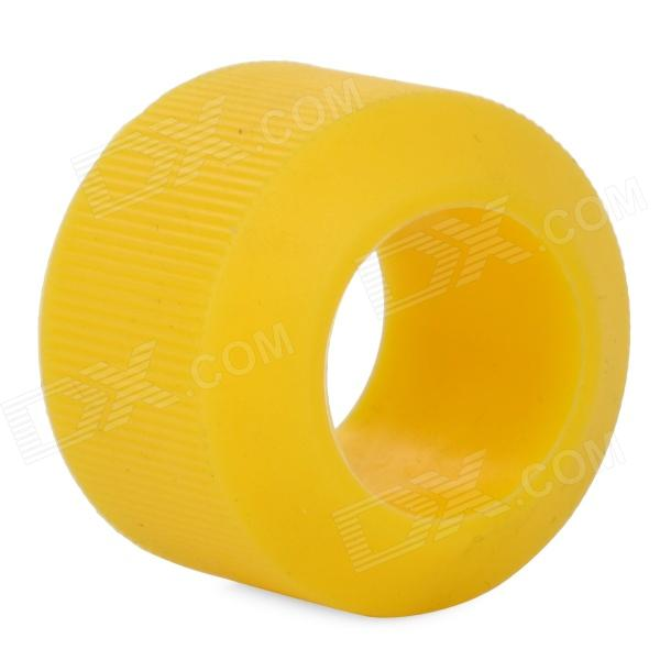 OQsport DIY Bike Silicone Handlebar Grip Ring - Yellow