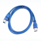 ULT-unite ULT-0215 Gold Plated USB 3.0 Male to Male High Speed Print Cable - Blue (150cm)