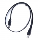 ULT-unite ULT-0413 USB 3.0 Male to Female Flat Data Extension Cable - Black (150cm)
