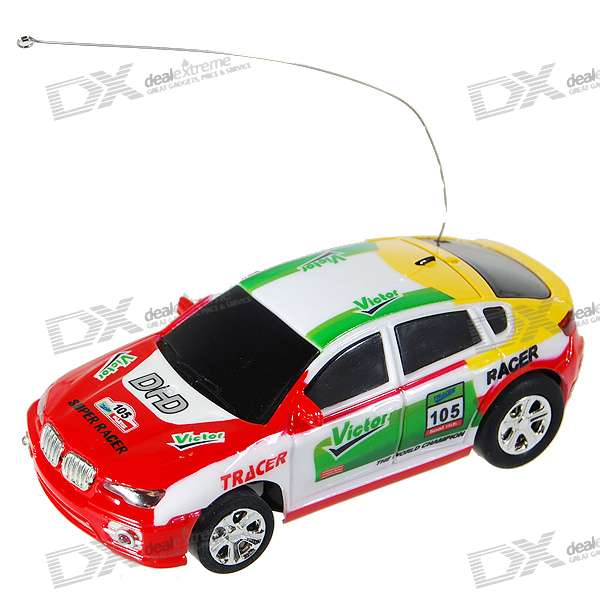 Mini Rechargeable R/C Model Racing Car - Heart (35MHz)