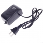 HDOM HD-500 2.0W Air Pump for Aquarium / Fish Tank - Black (2-Flat-Pin Plug / AC 250V)