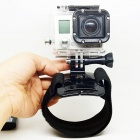 BZ93 Comfortable Elastic Velcro Wrist Mount for Gopro Hero 4/ 3+ / 3 / 2 / 1 / SJ4000