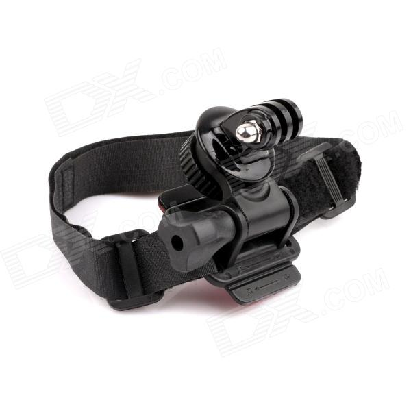 PANNOVO 180 Degree Rotation 3-in-1 Hand Leg Helmet Camera Holder for Gopro Hero 4/ 2 / 3 / 3+ / SJ4000