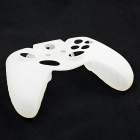 Protective Silicone Case for Xbox One Controller with Button Caps - White