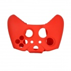 Protective Silicone Case for Xbox One Controller with Button Caps - Red