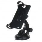 360 Degree Rotation Holder Mount Bracket w/ H80 Suction Cup for Samsung Galaxy Note i9220 - Black