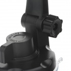 360 grados de rotación Holder Mount w / H17 ventosa + C71 Paste Back Clamp para móvil - Negro