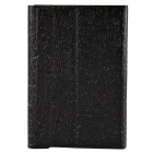 "Universal Cute Faerie Pattern Protective PU Leather Case Cover Stand for 7"" Tablet PC - Black"