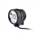 UltraFire D66-L2 5 x Cree XM-L2 T6 3-Mode 3000lm White Bike Light / Headlamp - Black (4 x 18650)