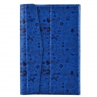 "Universal Cute Faerie Pattern Protective PU Leather Case Cover Stand for 7"" Tablet PC - Blue"