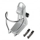 XB-064 Fashionable Car Interior Cup Holder - Silver + Black