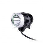 UltraFire MT-825 LED 3-Mode 900lm White Bike Light - Black + Silver (4 x 18650)