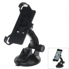 360 Degree Rotation Holder Mount Bracket w/ H80 Suction Cup for Iphone 5C - Black