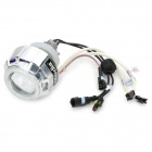 "Merdia 2"" Motorcycle HID 4300K Bi Xenon Headlights Projector Lens w/ Ballast / Dual Angel Eye"
