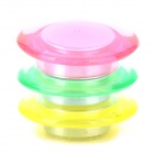 Handy Colorful Round Magnet for Refrigerator / Memo - Red + Light Green + Yellow (3 PCS)