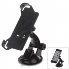 360 Degree Rotation Holder Mount Bracket w/ H01 Suction Cup for Iphone 5C - Black
