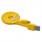 USB 2.0 Male to Micro USB 9-Pin Male Data Sync / Charging Cable for Samsung Galaxy Note 3 - Yellow
