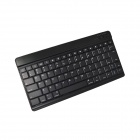 BK-996 Mini Ultra-thin Bluetooth V3.0 85-Key Keyboard for Ipad / Iphone / Samsung Galaxy Tab - Black