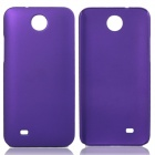 Fashionable Super Thin Protective Glaze PC Back Case for HTC Desire 300 - Deep Purple